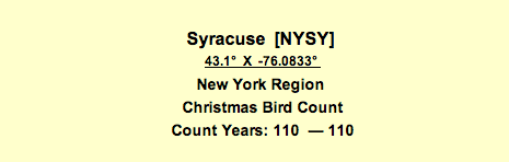 Syracuse CBC info