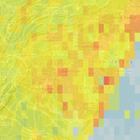 Hotspots Heatmap for NJ